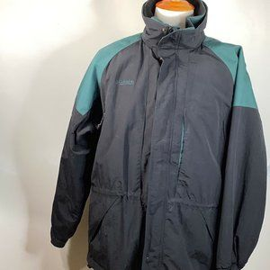 NWT COLUMBIA Granite Peak 3 in 1 Parka Coat Mens